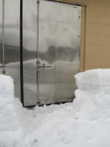雪室入り口1